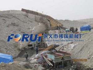 Alluvial gold beneficiation plant in Xinjiang China