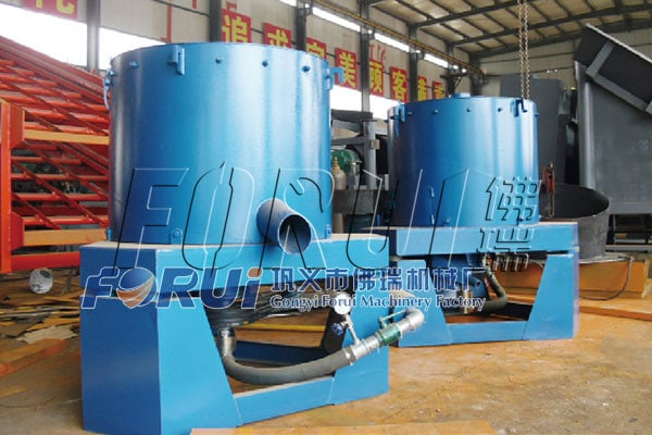 Centrifugal Concentrator for alluvial gold beneficiation production line