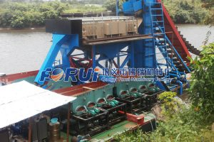alluvial gold dressing plant in Liberian
