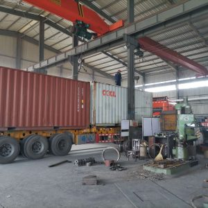 Container Car of Forui Machinery Factory