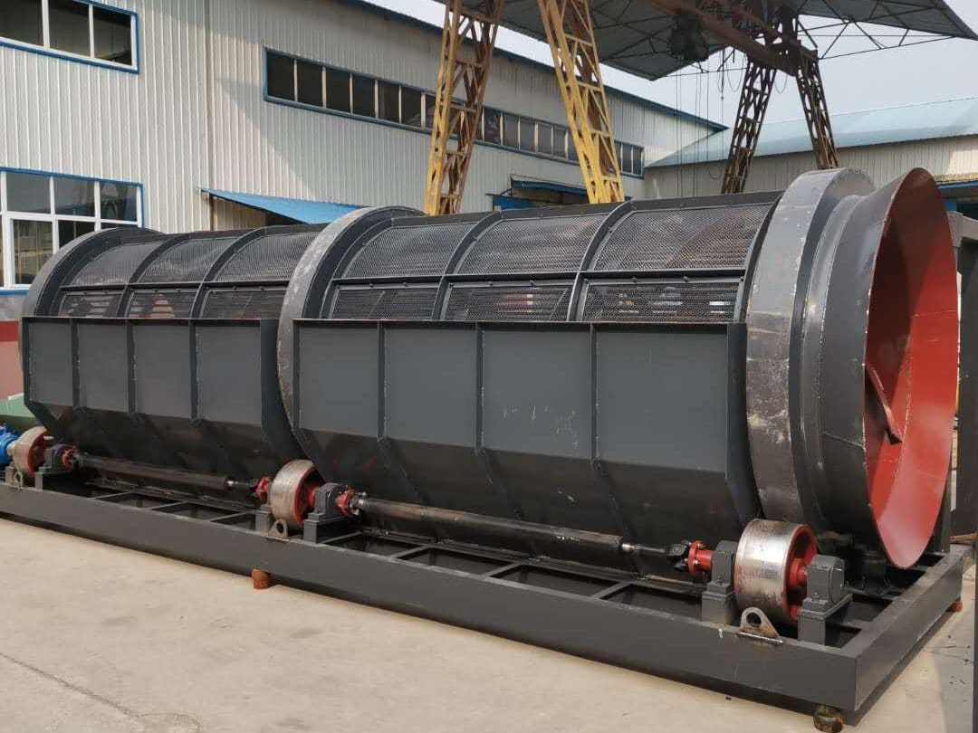 Trommel Screen for alluvial gold beneficiation