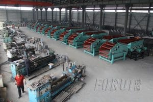 Workshop - Gongyi Forui Machinery Factory - Alluvial Gold Beneficiation Process Manufacturer