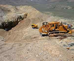 opencast working for alluvial gold