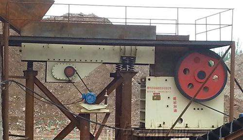 Jaw Crusher For Alluvial/Placer Gold Dressing