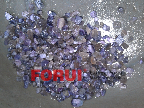 Result of Fluorite Beneficiation Plant in Mongolia