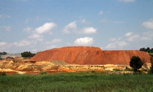 Placer Gold Mine in Africa